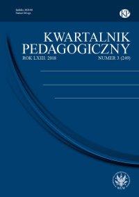 Kwartalnik Pedagogiczny 2018/3 (249) - J. Mirosław Szymański