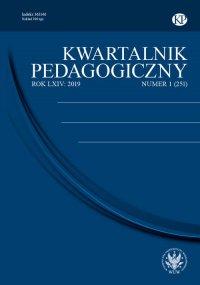 Kwartalnik Pedagogiczny 2019/1 (251) - Maria Groenwald