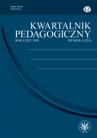 Kwartalnik Pedagogiczny 2019/4 (254) - Adam Fijałkowski