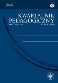 Kwartalnik Pedagogiczny 2018/2 (248) -