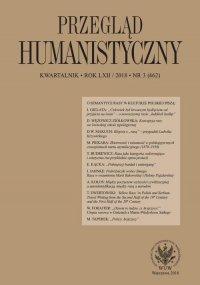 Przegląd Humanistyczny 2018/3 (462) - Filip Mazurkiewicz