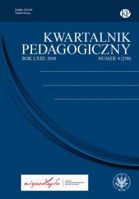 Kwartalnik Pedagogiczny 2018/4 (250) - Adam Fijałkowski