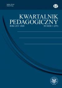 Kwartalnik Pedagogiczny 2020/1 (255) - Adam Fijałkowski