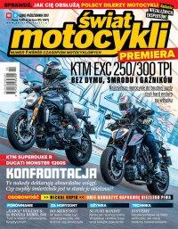 Świat Motocykli 10/2017 - Opracowanie zbiorowe
