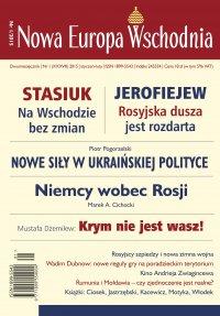 Nowa Europa Wschodnia 1/2015 - Opracowanie zbiorowe
