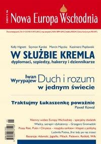 Nowa Europa Wschodnia 3-4/2012 - Kelly Hignett