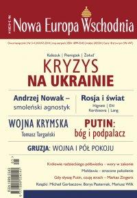 Nowa Europa Wschodnia 3-4/2014 - Andrzej Brzeziecki
