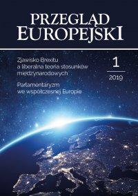 Przegląd Europejski 2019/1 - Konstanty Adam Wojtaszczyk