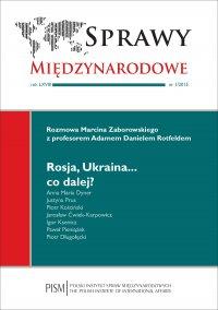 Sprawy Międzynarodowe 1/2015 - Marcin Zaborowski