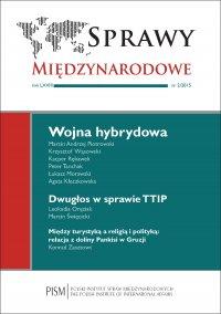 Sprawy Międzynarodowe 2/2015 - Marcin Andrzej Piotrowski