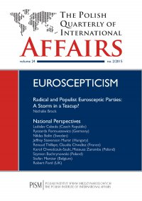 The Polish Quarterly of International Affairs 2/2015 - Nathalie Brack
