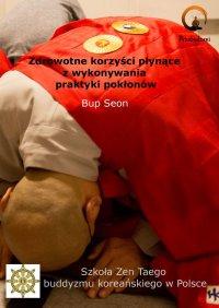 Zdrowotne korzyści płynące zwykonywania praktyki pokłonów - Michał Bopson Kowalczyk