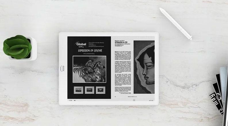 Onyx Boox Max 3 idealny do PDF, komiksów i czasopism.