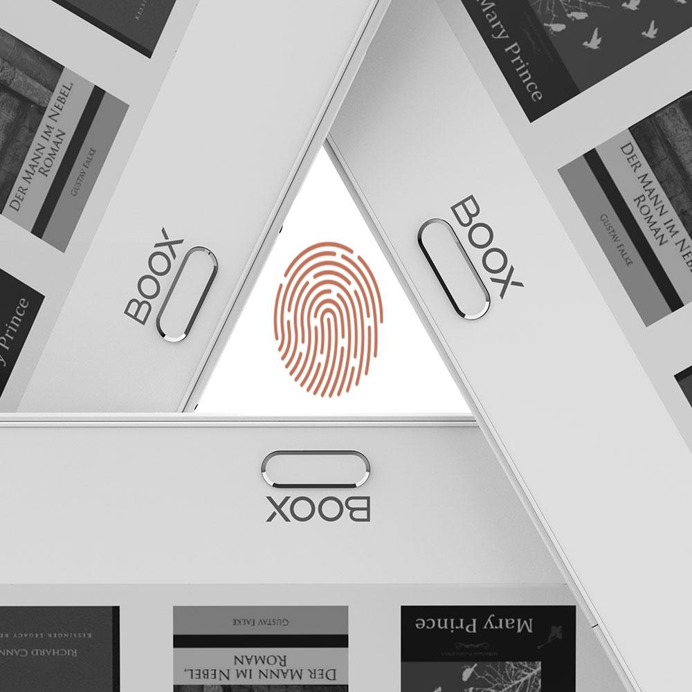 Odblokuj ekran przyciskiem palca Onyx Boox Max 3