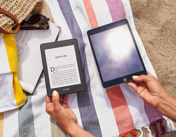 Kindle Paperwhite 4 ekran