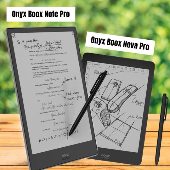 Onyx Boox Note Pro Onyx Boox Nova Pro