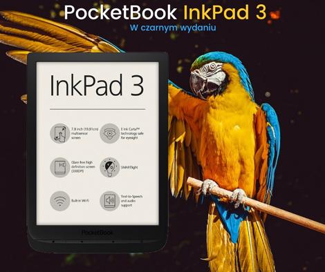 pocketbook inkpad 3 w nowym kolorze
