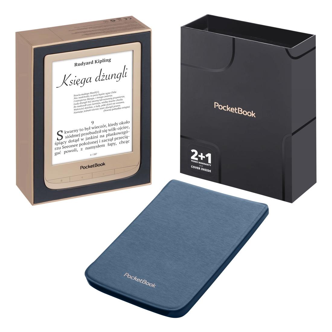 PocketBook Touch Lux 4 gold na świąteczny prezent