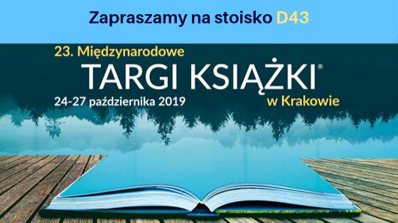 Zapraszamy na Międzynarodowe Targi Książki w Krakowie.