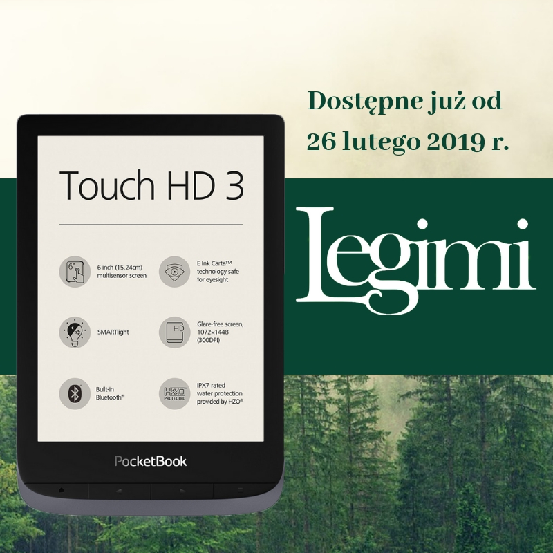 Legimi PocketBook Touch HD 3