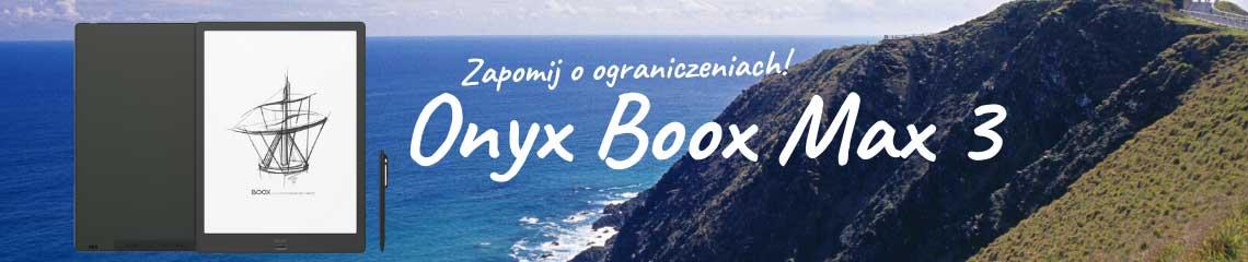 Onyx Boox Max 3 baner