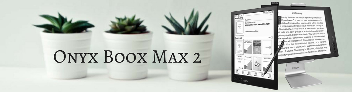 Onyx Boox Max 2 - 13,3 cala