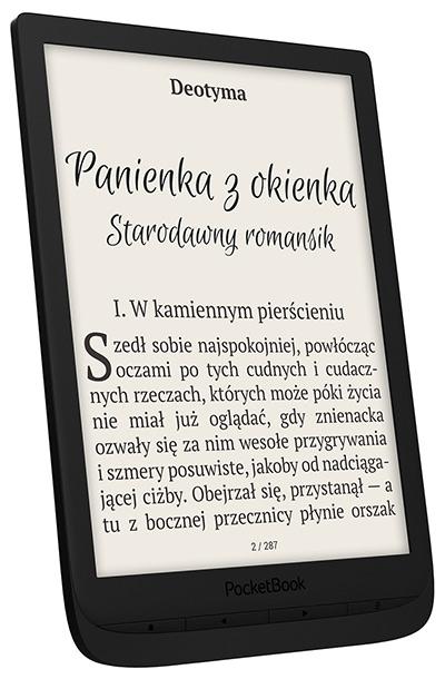 PocketBook Inkpad 3 w kolorze czarnym