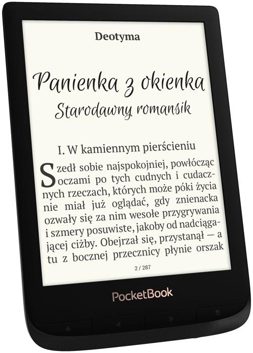 PocketBook Touch Lux 4 (627) w kolorze czarnym