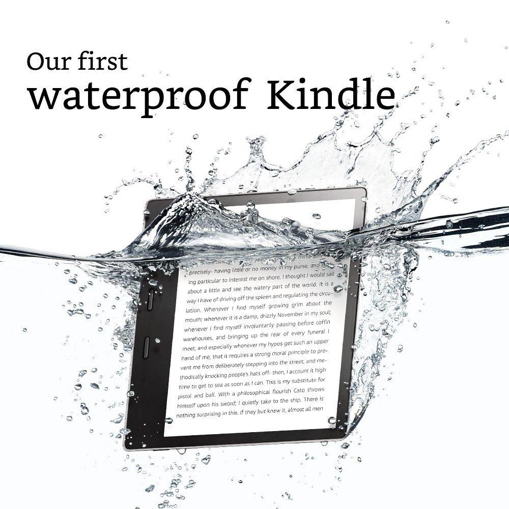 Amazon Kindle Oasis 2 (2017) 32GB + łączność 3G gratis, wodoodporny