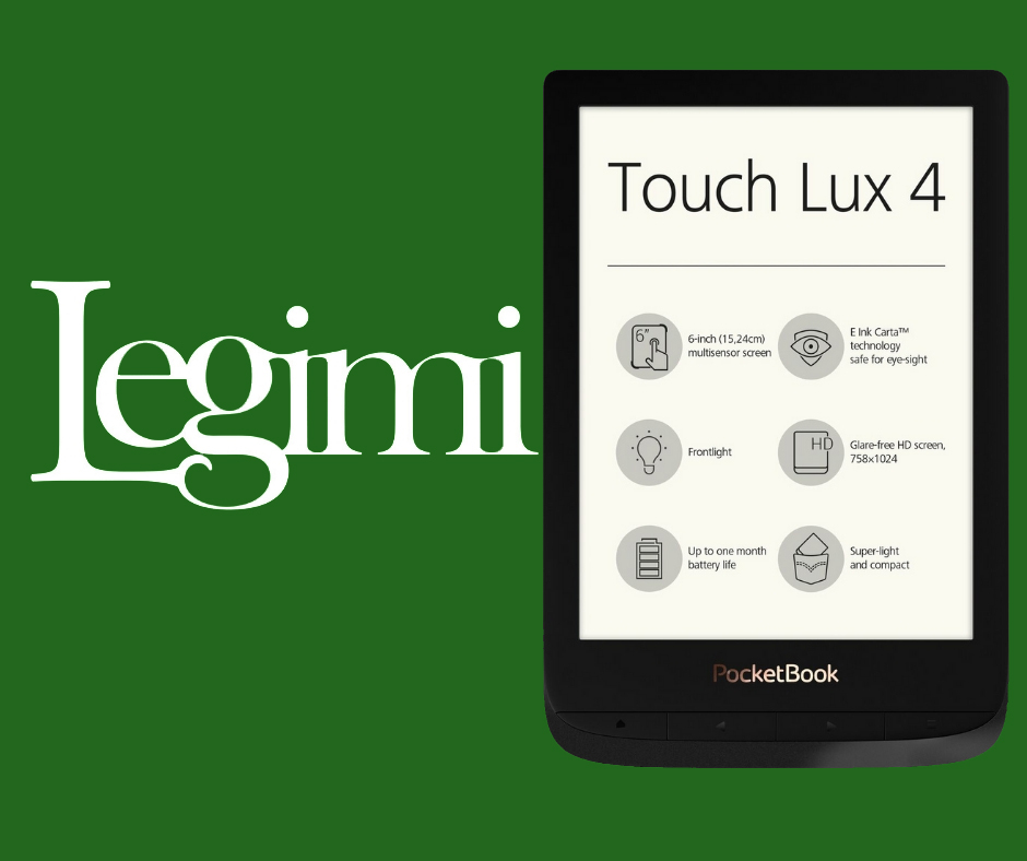 pocketbook touch lux 4 legimi