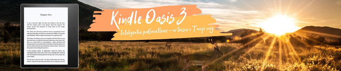 7-calowy czytnik e-bookow Kindle Oasis 3