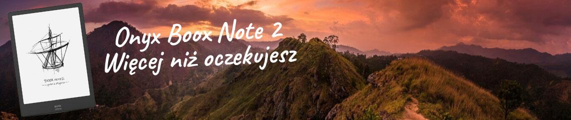 Onyx Boox Note 2 - więcej niż oczekujesz
