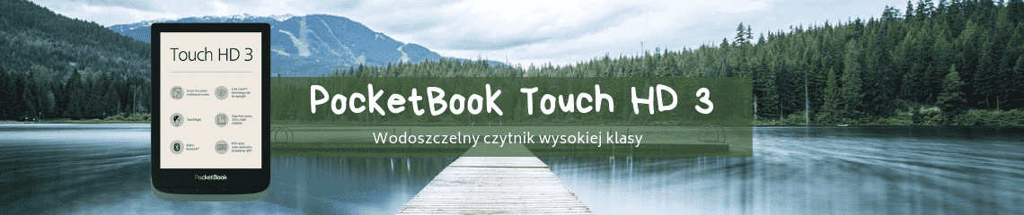 PocketBook Touch HD 3 szary